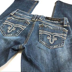Rock Revival Leona Boot Jeans Size 29 EUC